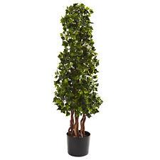 3.5' English Ivy Spiral UV Resistant Artificial Fake Silk Plant In-door/Out-door