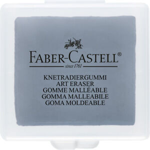 Putty Rubber - Faber-Castell Kneadable Eraser for Art, Charcoal & Pastel 127220