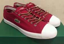 Lacoste,Marcel Chunky,Herren,Schuhe,Sneaker,Canvas,Bordeaux Gr.45 UK 10,5 NeuOVP