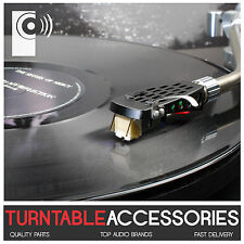 BLACK Metal Headshell - replacement for turntable tonearm - THAT'S AUDIO
