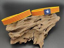 Pulsera ESTELADA bandera ELASTICA 18cm pulseras elástico Independencia Cataluña