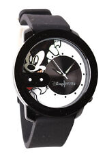 NEW Flud Mickey Mouse Rex Pose White and Black Steel Quartz Analog Watch