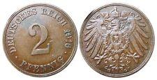 J 11   2 Pfennig Kaiserreich 1916 G in VZ-STG  502850
