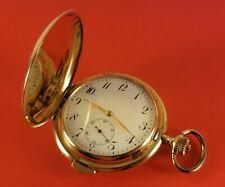 Antique Weltausstellung 1/4 Repeater Pocket Watch 14K Gold Case Ca.1895