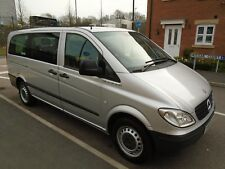 2009 MERCEDES VITO CDI LONG TRAVELINER 2.1 DIESEL AUTOMATIC 9 SEATER,LOW MILEAGE