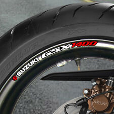 8 x SUZUKI GSX 1400 WHEEL RIM STICKERS  DECALS - B