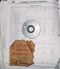 NOS Lucas Steering Contact 331712. Rapier I & II, 59-60 Super Snipe, Husky -->