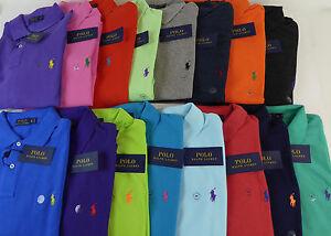 Polo Ralph Lauren NWT SS Classic Mesh Cotton Polo Shirt Pony 20 Colors $85 - $98