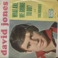 David Jones- This Bouquet/What Are You Going to do?- Colpix 784- EX/VG