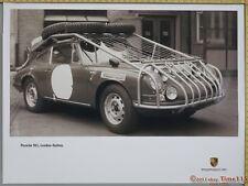 """LONDON - SYDNEY MARATHON Genuine Porsche Fact Showroom Poster Original 40"""" x 30"""