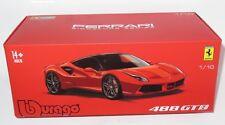 1/18 Bburago Ferrari 488 GTB Red - Signature Series with extra detail