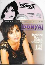 DONYA - Before the clock strikes 12 CD SINGLE 2TR EUROVISION 1999 NETHERLANDS