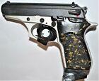 Bersa Thunder Firestorm Pistol Grips Black With Gold Leaf Plastic
