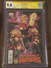 Secret Wars #5 (CGC 9.8 SS x 3) - Midtown Variant - 2015 Marvel - Sold Out!
