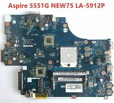 Acer aspire 5551 5551G 5552 5552G E640 AMD Motherboard NEW75 LA-5912P Test Good