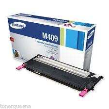 NEW ! GENUINE Samsung CLP-310 CLP-315 CLX-3170 CLX-3175 Magenta Toner M409