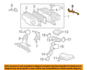 17119-20010 Toyota Bracket, air cleaner 1711920010