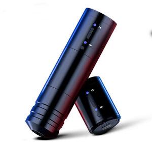 Rotary Wireless Tattoo Machine Pen Kits 2pcs Power Supply Battery Pack Body Art