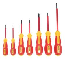 7pcs Insulated Screwdriver Set Slotted Cross Screw Driver Repair Hand Tool Kit