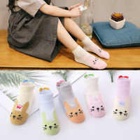 5 pairs Kids Socks Cotton Breathable Mesh socks Spring Summer Girls Boys Fashion