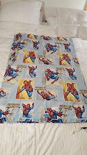 """MARVEL Kids Amazing Spiderman FLAT Sheet TWIN 66"""" x 96"""" COMICS"""