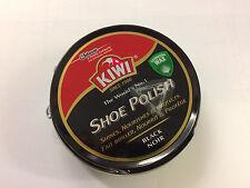 Kiwi Leather Shoe Polish Shines, Nourishes & Protects Dark Tan 50ml