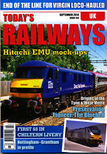 TODAY'S RAILWAYS UK 153 SEP 2014 Tyne & Wear Metro,Bluebell,Nottingham-Grantham