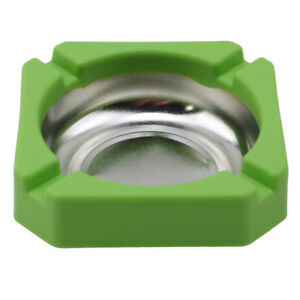 Stainless Steel Square Cigarette Ashtray Ash Tray For Home House Cafe ST