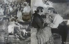 MELLER (Raquel), LERCH (Louis). Carmen - Jacques Feyder (1926). 3 Photographies