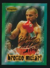 1996 Ringside Boxing #33 BRONCO McKART *AUTOGRAPHED*