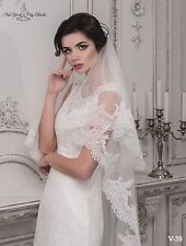 New Wedding Veil ''Chloe'' from NYC Bride, made in Europe