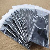 11 Hook Pcs Set Steel Circular Accessories Pin Knitting 80cm Needles Stainless