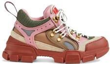 NEW GUCCI LADIES CURRENT FLASHTREK HIKING OVERSIZE SOLE SNEAKERS SHOES 40/US10.5