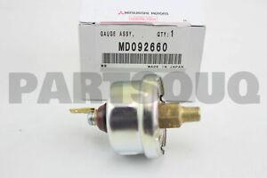 MD092660 Genuine Mitsubishi GAUGE UNIT,ENG OIL PRESS