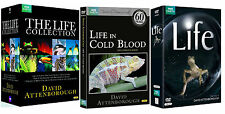 DAVID ATTENBOROUGH THE LIFE COLLECTION 30 Discs Cold Blood (NEW DVD R4)