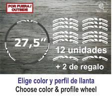 "Sticker Vinilo Decal Vinyl Aufkleber Adesivi ENVE Wheels Llanta Bike Bici 27,5"""