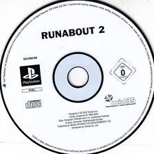 Runabout 2 (ps1) Unique CD, signes d'usure minimale