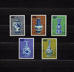 CHINA #1812-1816 MNH PORCELAIN MASTERWORKS OF THE MING DYNASTY