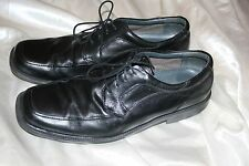 G.H.Bass & Co Men's Black Dress Shoes Lace Up Leather Percy Oxford Size 11 M