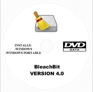 BleachBit Optimizer, System Cleaner, Shred Files,  And Clean Browser DVD Install