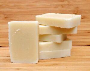 Luxury vegan handmade soap. Natural for sensitive skin. Unscented.
