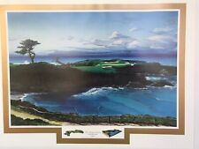 The Dream Course Hole 16 Limited Edition Signed Print Elizabeth Peper Cypress