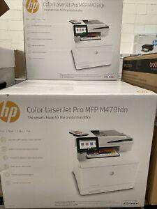 #818 - HP COLOR LASERJET PRO MFP M479FDN Scanner Copia Stampa Fax LAN W1A79A