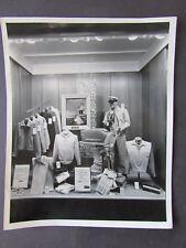 1940's Dept. Store Window Display Male Mannequin Scott Atwater Motor Mill Valley