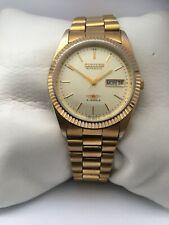 Citizen Men's Automatic 21 Jewels Day/ Date Bracelet Gold plate 000594   Watch