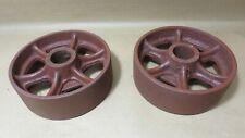 6x2 Industrial Vintage Cast Iron Cart Wheels 5 1316 X 2 516 Actual 1 516 Bore