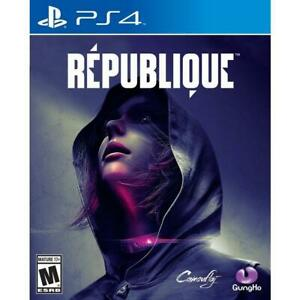 Republique -  PS4 - Stealth Action VERY GOOD FREE POST + TRACKING  (RARE)