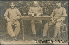 French Colonial Soldiers In Cochinchine Vietnam Real Photo Postcard ca.1915