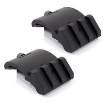 2pc LOW PROFILE OFFSET ANGLE PICATINNY RAIL MOUNT 45 DEGREE 20MM For laser Sight