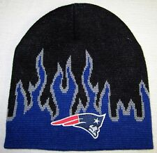 NEW ENGLAND PATRIOTS FIRE BEANIE ~SKULL CAP/HAT, NFL PATCH/LOGO ~COOL ~NEW